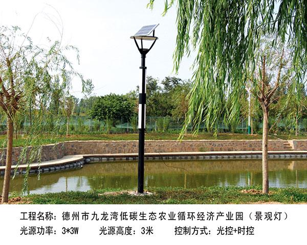 ballbet贝博网站市九龙湾  低碳生态农业循环经济产业园3m (景观灯)