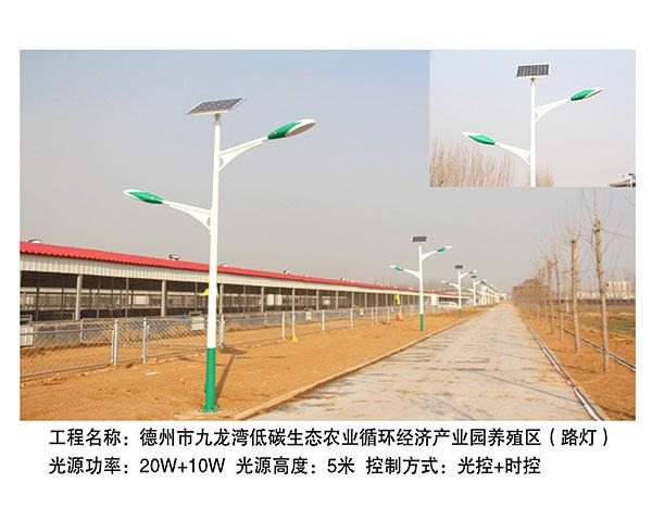 ballbet贝博网站市九龙湾养殖区路灯5m